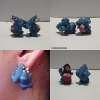 Gible Earrings
