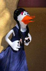 Audrey the Duck Professional Puppet by foreverprairie
