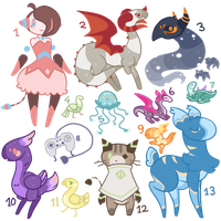 Derptables ~ OTA + FREE ~ CLOSED ~ ! by Insane-Sanety