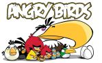 Angry Birds wall decal by graphicwolf