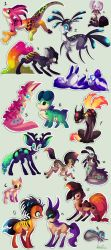 Lots of free adoptables - CLOSED by Roxalew