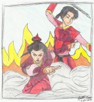 DA Request - Azula And OC Zai by Kaotic-Cass