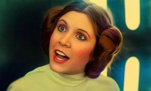 Princess Leia by Carrie Fisher in 'A new hope' by petnick