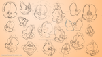 Animaniacs expressions practice