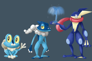 Froakie's Evolution Line