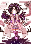 Chibi sketch color isis by isabelFenix