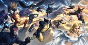 X-Men Epic by TylerWalpole