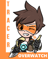 OVERWATCH - Tracer by picketG
