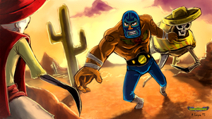 Guacamelee fan art by Crowtex-lv