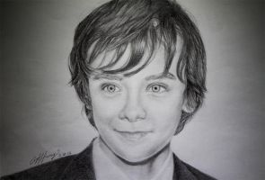 Asa Butterfield by panette