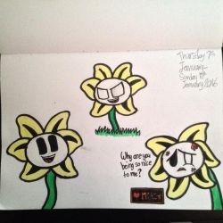 Flowey(Undertale) by Riyana2