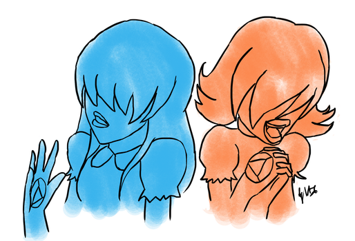 Sapphires by Adula11
