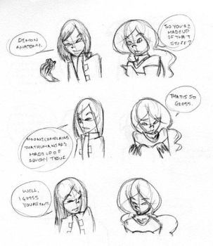 Conversations Two by JimmytheGothicEgg