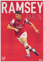 Aaron Ramsey Poster by Ziox-D