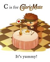 MGS - C is for Calorie Mate by FerioWind