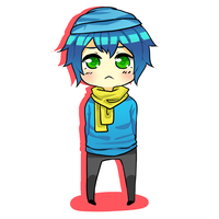 Commission 1: Chibi Exavier for WastedRhythm by Jhan-K