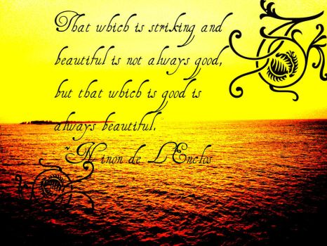 Good is Beautiful by Cindyfred