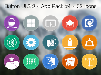 Button UI 2.0 ~ App Pack #4 by BlackVariant