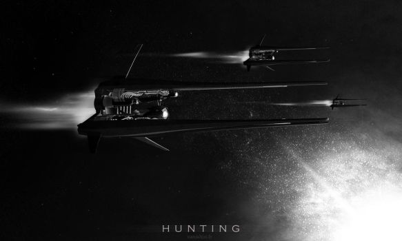 Hunting drones Ex-o7 by Vanishin