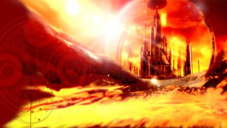 Gallifrey desktop by Aerindarkwater