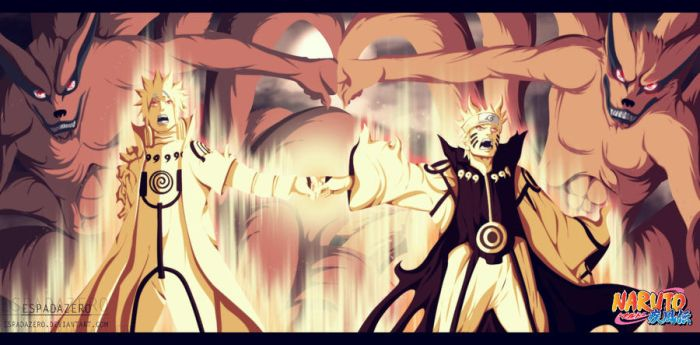 NARUTO 643  - The most powerful duo by EspadaZero