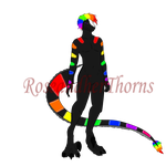 Anthro Dragon Adopt *SOLD by RoseandherThorns
