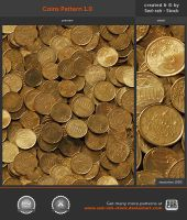 Coins Pattern 1.0 by Sed-rah-Stock