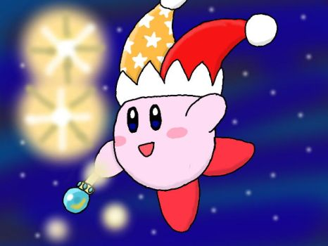 KCAC #4: Beam Kirby by LunaClefairy