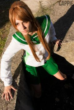 Highschool of the Dead - Rei Miyamoto by DeathWrathAngel