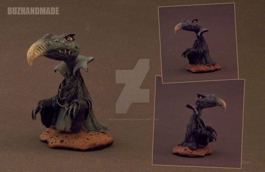 SKEKSIS - mini sculpture by buzhandmade