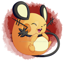 Pokeddexy: Favorite Electric Rodent - Dedenne by Togekisser
