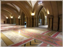 St Mary's Cathedral Crypt 3 by JohnK222