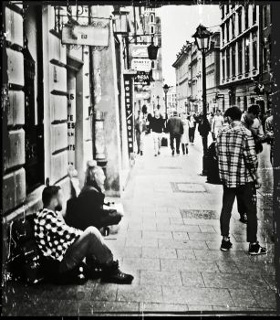 Within the Streets by MysonTheBlueIllusion