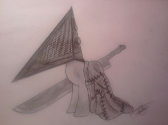 My Little Pony - Pyramid Head by Yumechan774