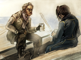 death and the boatman (dishonored) by PayRoo