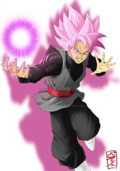 Goku Black Pink form by WhysoGurin