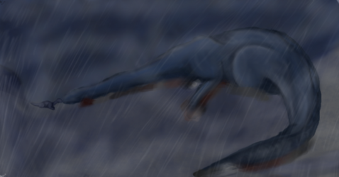 ...The Death of Littlefoot's Mother... by JK-Draws