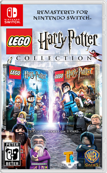 LEGO Harry Potter Collection Nintendo Switch by PeterisBeter