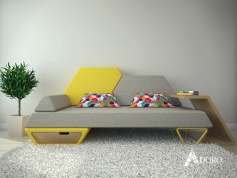 Pezio Sofa by adorodesign