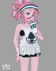 Tower Girls - Squid by vSock