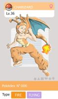 Gijinka Pokemon 006 Charizard by saurodinus