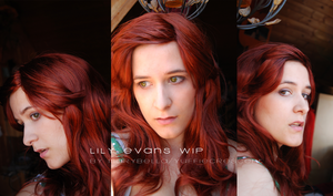 Lily Evans WIP- Wig and Make-up by Marybellla
