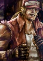 Terry Bogard by jorcerca