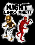 Night Link and Rhett by lunethstclaire