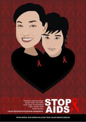 Stop AIDS by gogon
