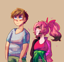 AT: Loly and Ed by RemonKeki