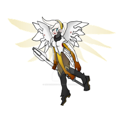 Mercy Sticker by EnderwingsThePony