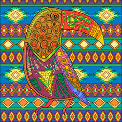 Toucan Tapestry. by catdragon4
