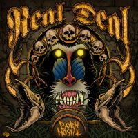 Real Deal - Born Hostile LP by scumbugg