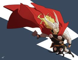 Thor by oldpantymachine